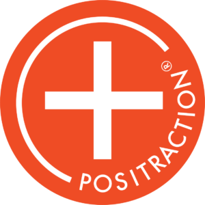 Positraction logo- marketing firm