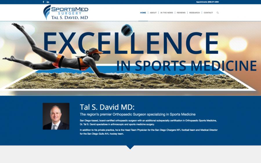 Tal-David-Website-Orthopedic-Surgeon-Marketing-Positraction-San-Diego
