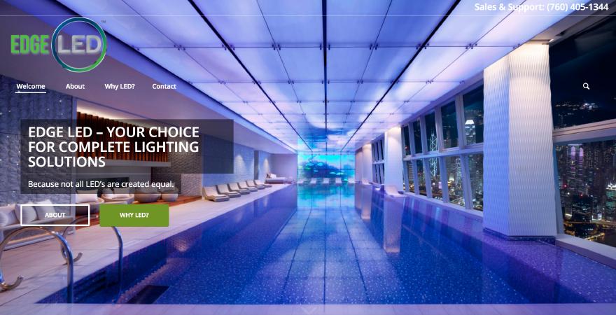 Edge LED website