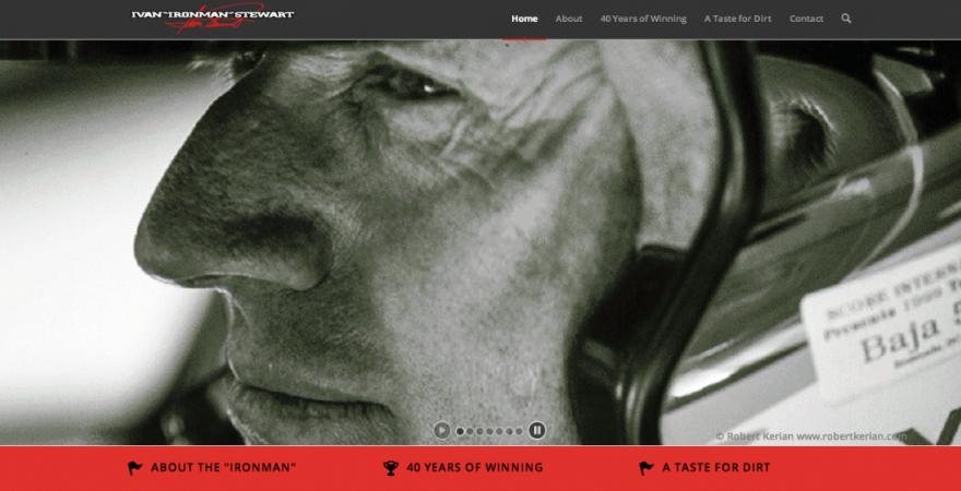 Ivan Ironman Stewart website