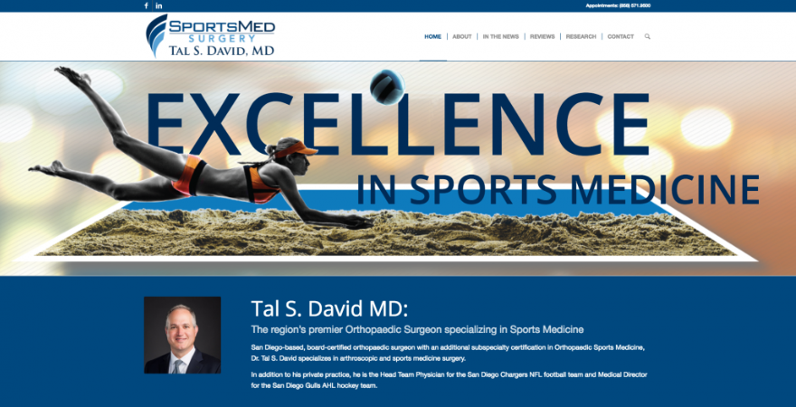 Tal-David-Website-Orthopedic-Surgeon-Marketing-Positraction-San-Diego