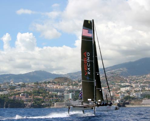 Vega Racing on sailboat