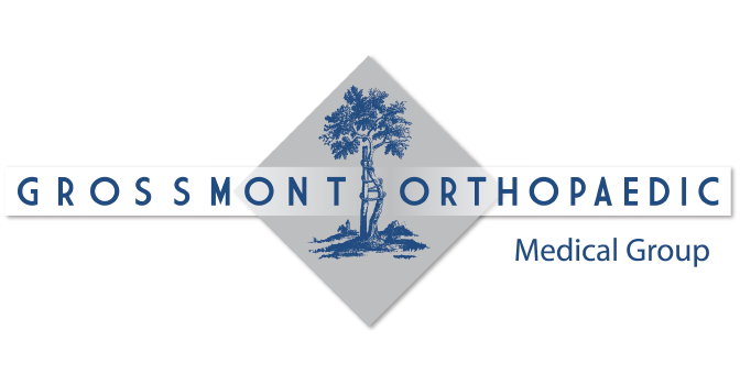 Grossmont orthopaedic logo corporate identity