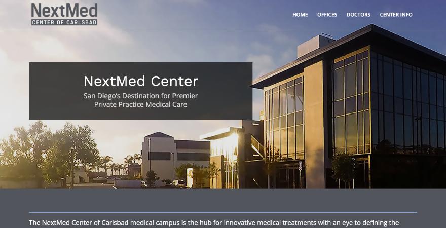 NextMed website