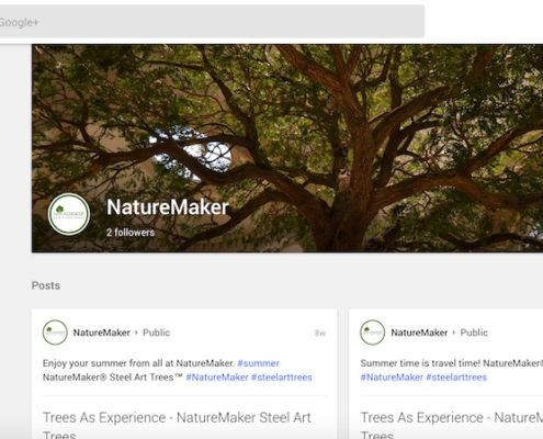 NatureMaker Google Plus Profile