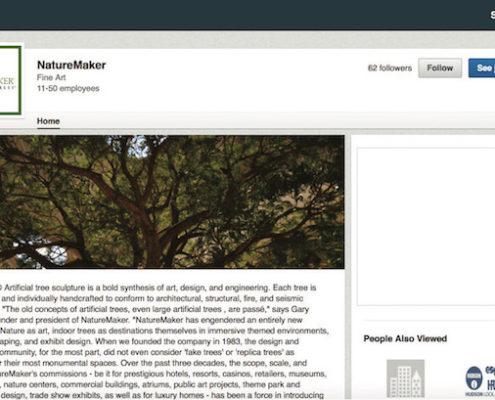 NatureMaker LinkedIn