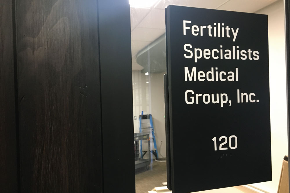 Fertility Specialists Medical Group, Inc. sign
