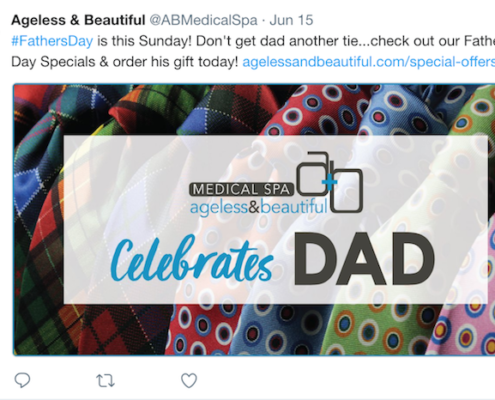 A&B Father's Day Tweet