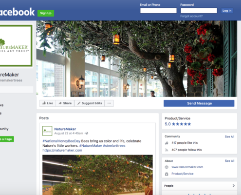 NatureMaker Facebook Page