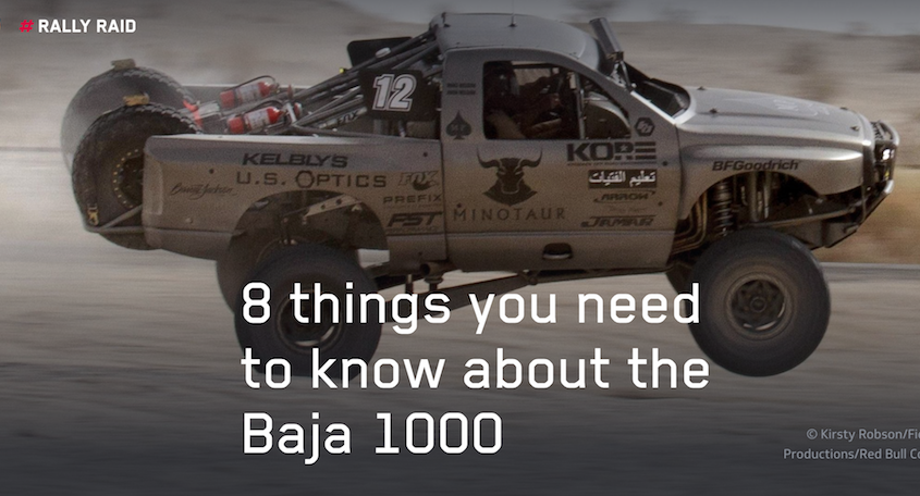 8 things you need to know about the Baja 1000
