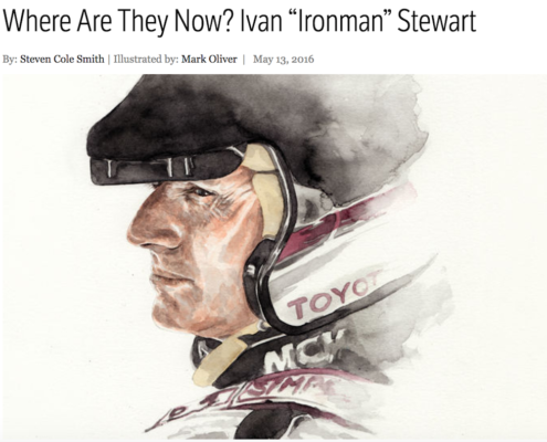 Where are they now? Ivan Ironman Stewart