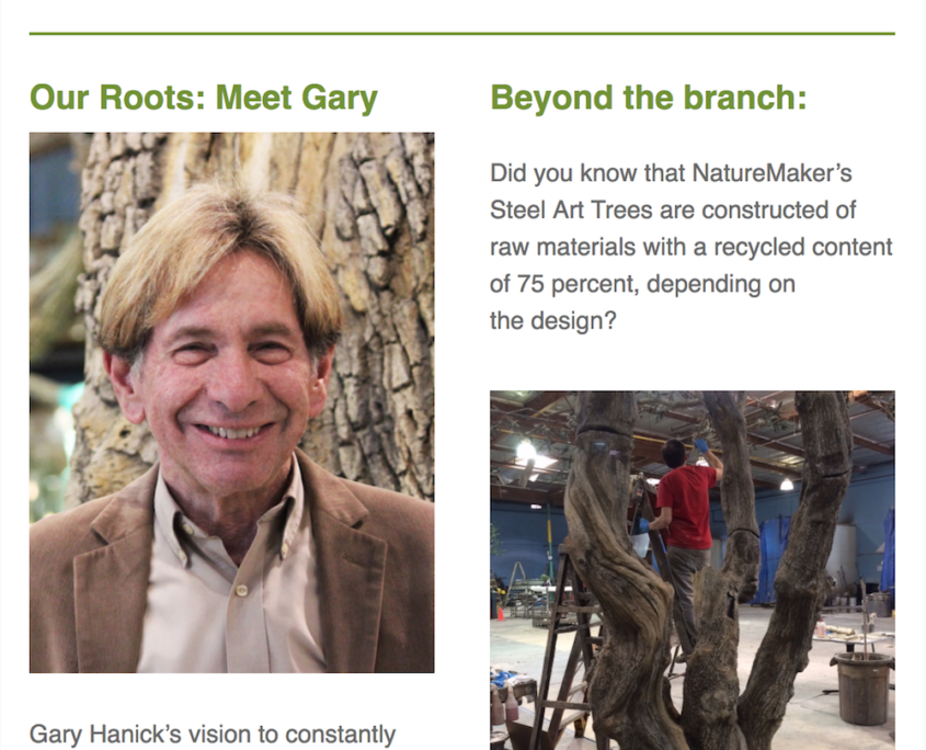 NatureMaker newsletter 2