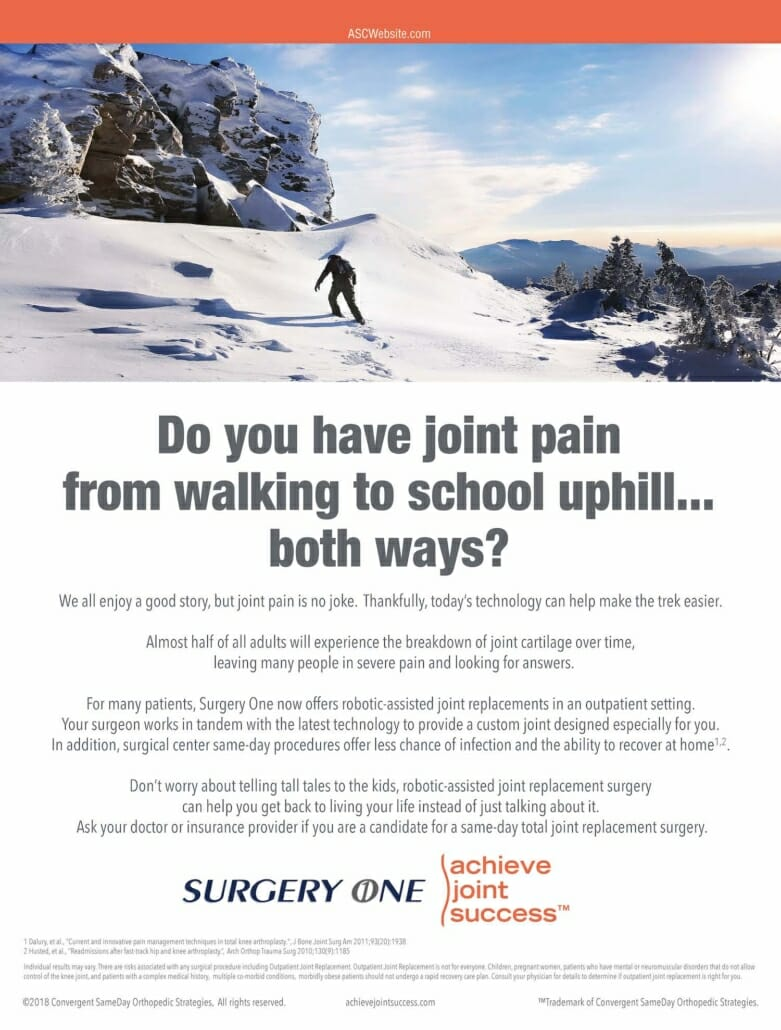 Achieve Joint Success Ad - technology