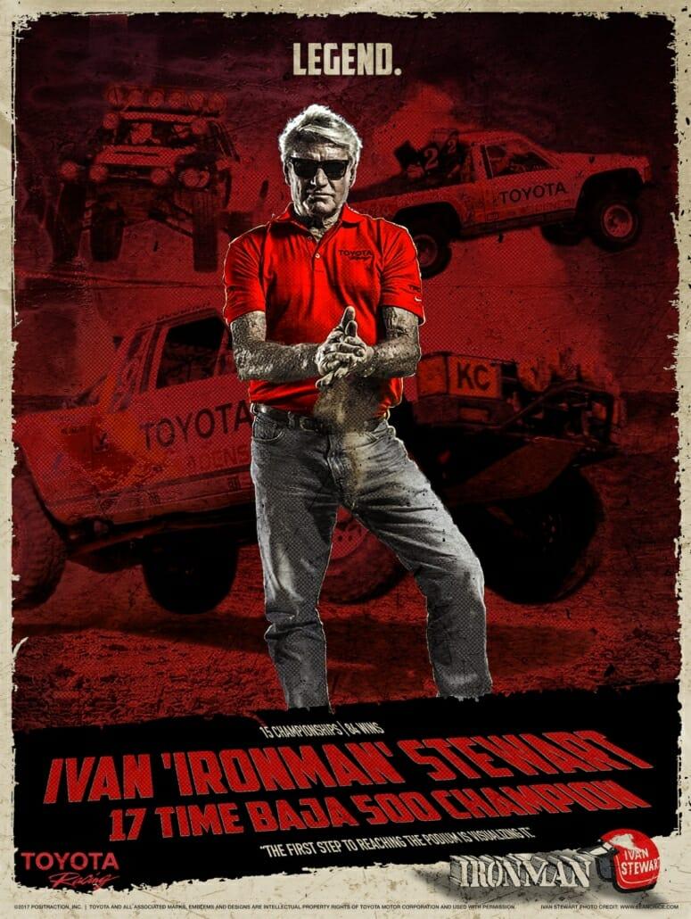 Ivan Stewart Grindhouse Poster
