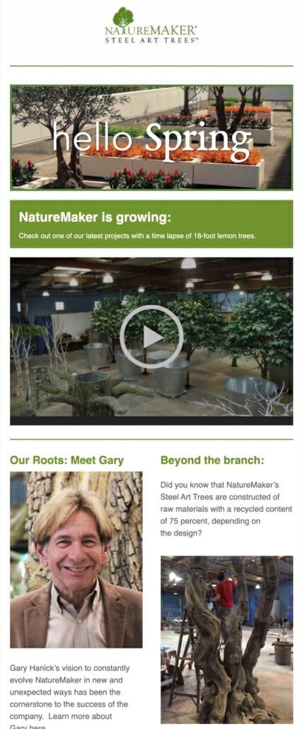NatureMaker Newsletter Preview 2
