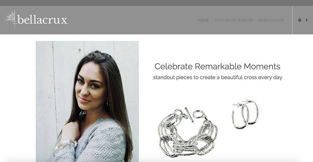 Bellacrux website screenshot